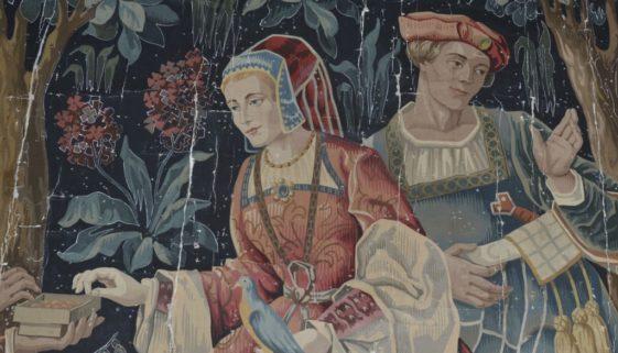carton de tapisserie aubusson alvy collection michele zanoni milano 000036