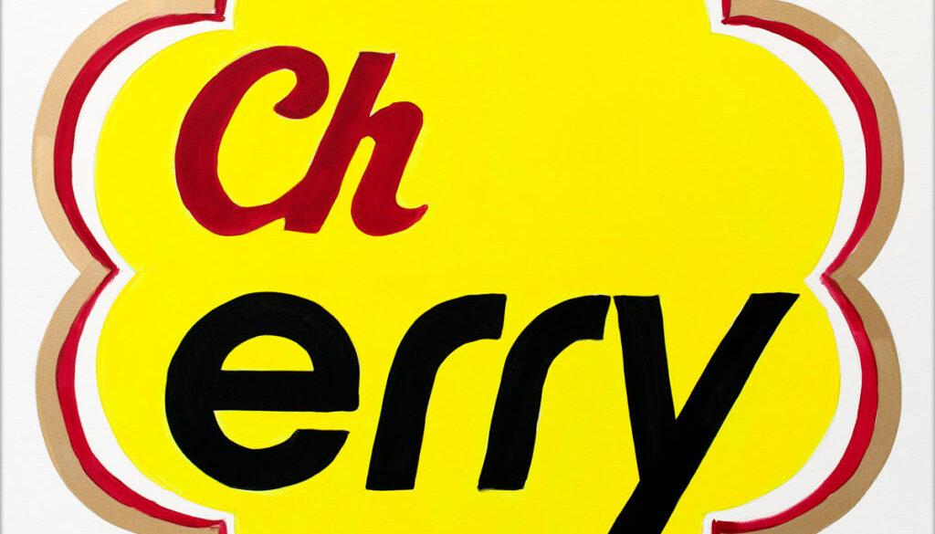 Cherry-AcrylicOnCanvas-TechnoFood2015-Michele Zanoni