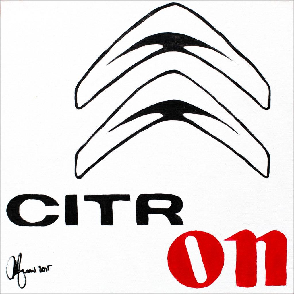 Citron-AcrylicOnCanvas-TechnoFood2015-Michele Zanoni
