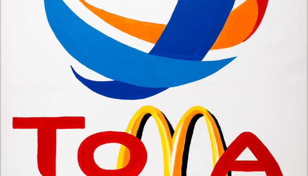 Tomato-AcrylicOnCanvas-TechnoFood2015-Michele Zanoni