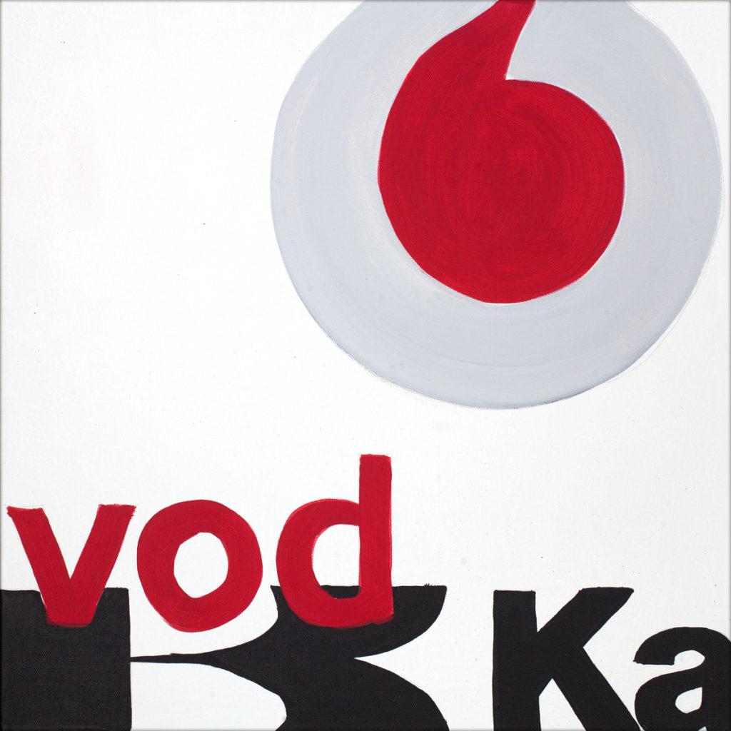 Vodka-AcrylicOnCanvas-TechnoFood2017-Michele Zanoni