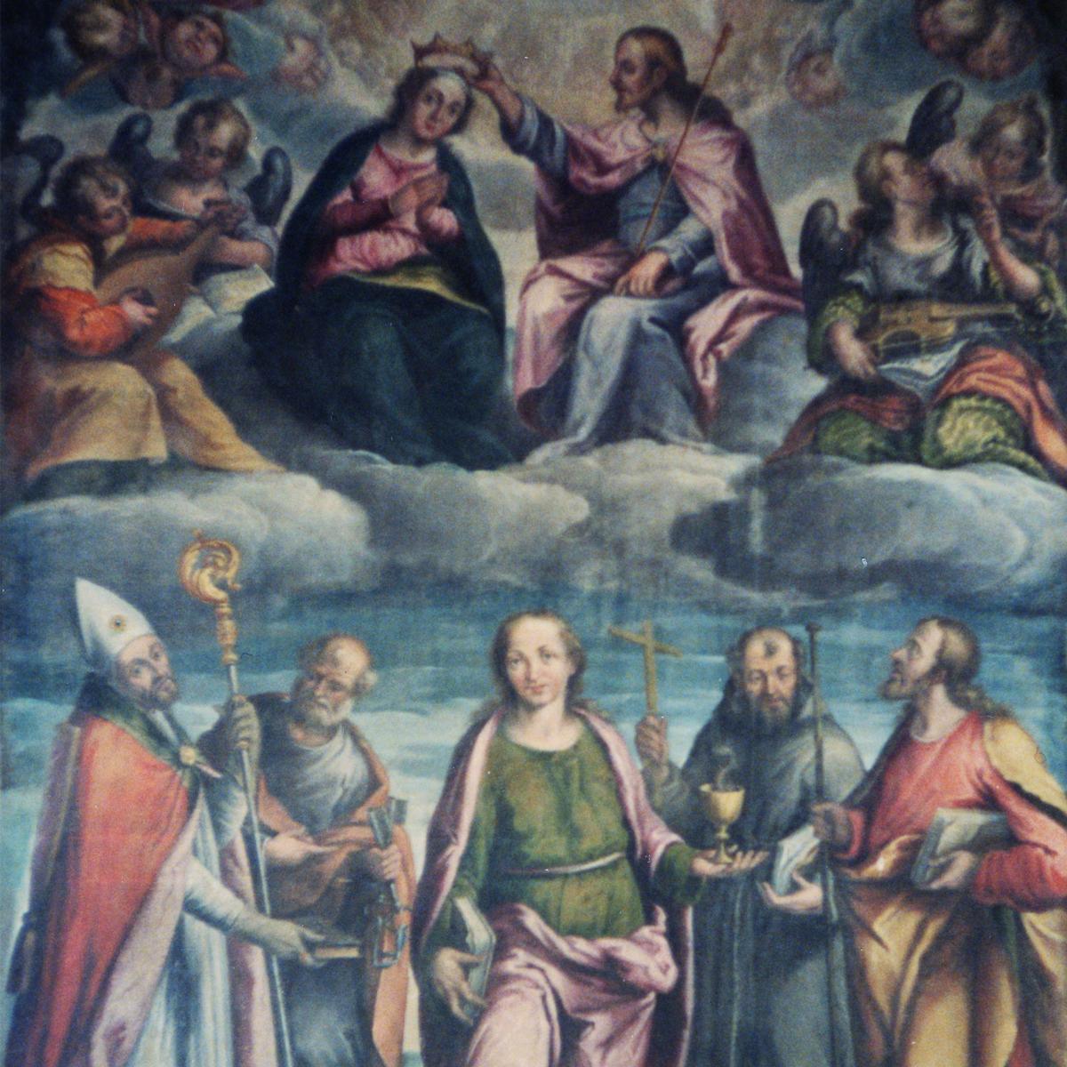Oil on Canvas - Massone di Arco Church Italy